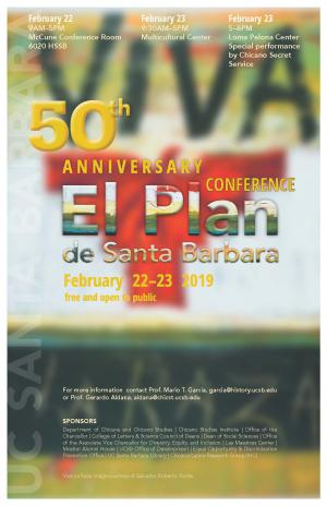 50th Anniversary Conference large flyer
