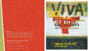50th Anniversary Conference program cover