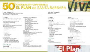 50th Anniversary Conference program